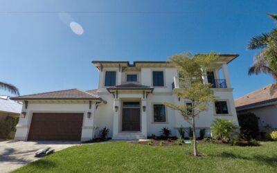 Custom Home 324 EDGEWATER CT. MARCO ISLAND, FL. 34145