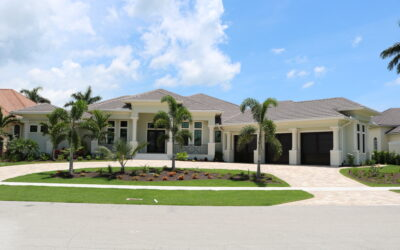 Cutler Court Custom Home In Marco Island, Florida